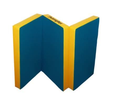 Детский спортивный мат Kampfer №6 (150 x 100 x 10 см) сине-желтый