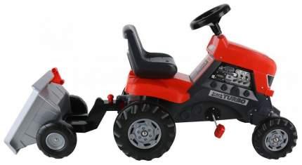 Каталка детская Coloma Y Pastor трактор с педалями Turbo с полуприцепом