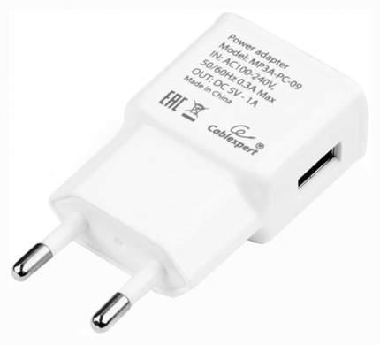Сетевое зарядное устройство Cablexpert 1 USB 1A White