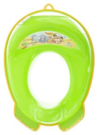 Накладка на унитаз Tega Baby Сафари антискользящая зеленая