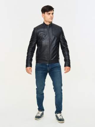 кожаная куртка мужская Mondial KF-09 синяя 50 EU