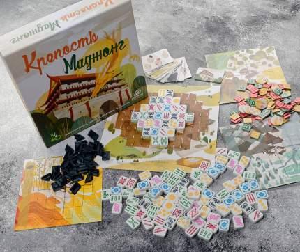 Настольная игра ИНТЕРХИТ KMJ996 Крепость Маджонг