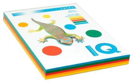 Бумага IQ Color Trend Mixed Packs, А4, 80 г/м2, 250 л, 5 цветов по 50 листов, цветная и...