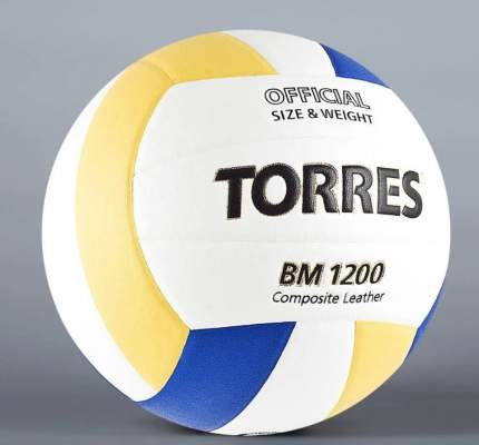 Волейбольный мяч Torres BM1200-Mini №1 blue/white/yellow