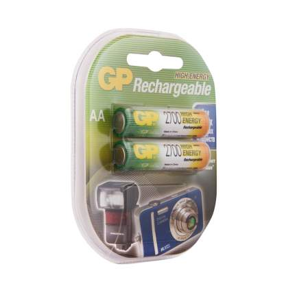 Аккумуляторная батарея GP АА (HR6) 2700 мАч, 2 шт.