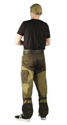 Брюки Ursus Горка-Горец, светлый хаки/темный хаки, 44-46 RU, 170-176 см