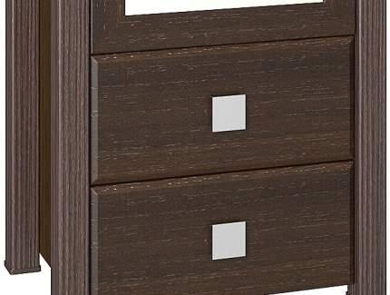 Платяной шкаф Компасс-мебель Изабель ИЗ-17 KOM_IZ17_2 55x40x210, орех темный