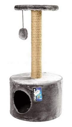 Домик для кошек Дарэлл круглый малый, в ассортименте, 37х37х73 см