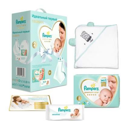 Подарочный набор Pampers Premium Care для новорожденных 2, 4-8 кг