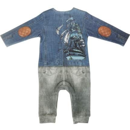 Комбинезон Папитто для мальчика Fashion Jeans 553-01 р.22-74