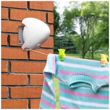 Сушилка для белья настенная Tatkraft Strong Retractable Outdoor Clothes Line 15 м