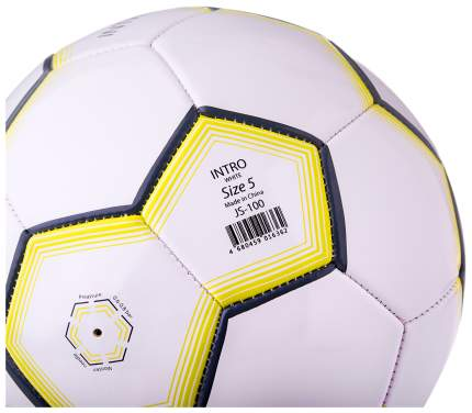 Футбольный мяч Jogel Intro JS-100 №5 white