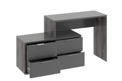 Туалетный столик Hoff 75х150х40 см, серый