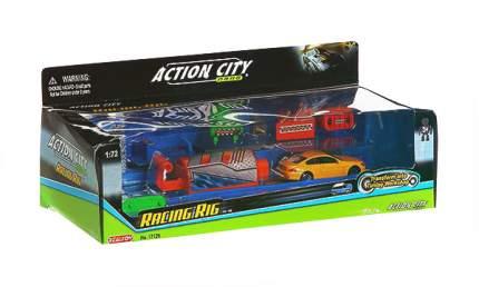 RealToy Инерционный машиновоз с открывающися контейнером action city RealToy 17126