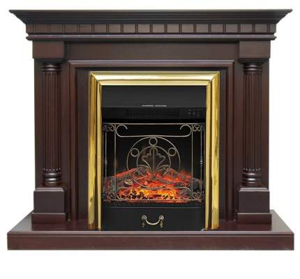 Деревянный портал для камина Royal Flame Dallas под классический очаг (Темный дуб)