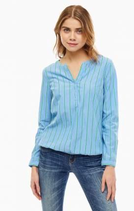 Блуза женская TOM TAILOR синяя 48