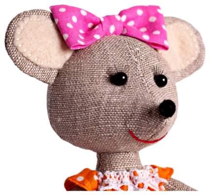 ПЕРЛОВКА Набор для изготовления текстильной игрушки Мышка-Норушка ПЛДК-1457