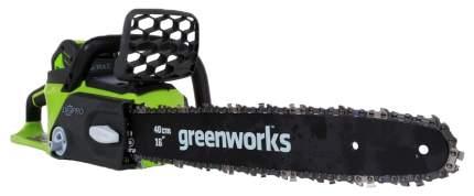Аккумуляторная цепная пила Greenworks GD40CS40 20077ua