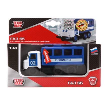 Полицейская Машинка Технопарк ГАЗ-66 1:43 Милиция Полиция