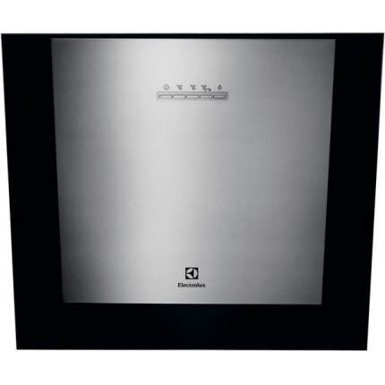 Вытяжка наклонная Electrolux EFF55569DK Silver/Black