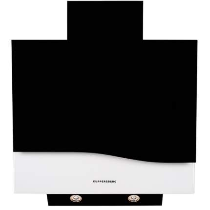 Вытяжка наклонная KUPPERSBERG F W620 B Black/White