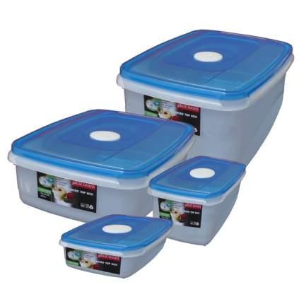 Контейнер для продуктов Plast Team 1549 набор