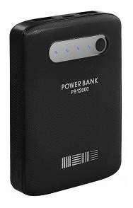 Внешний аккумулятор InterStep PB12000 12000 мА/ч (IS-AK-PB12000BR-000B201) Black