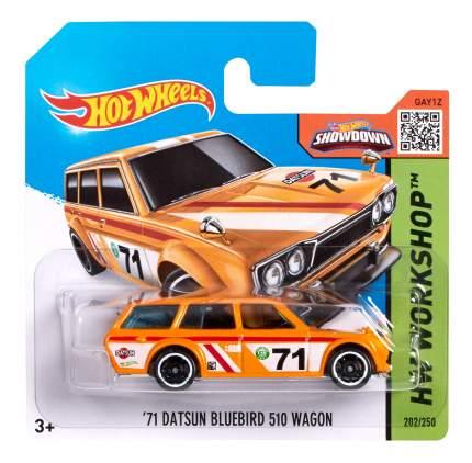 Машинка Hot Wheels 71 DATSUN BLUEBIRD 510 5785 CFK96