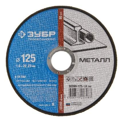 Отрезной диск по камню для угловых шлифмашин Зубр 36200-125-1,0_z02
