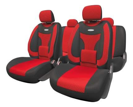 Комплект чехлов на сиденья Autoprofi Extra Comfort ECO-1105 BK/RD (M)