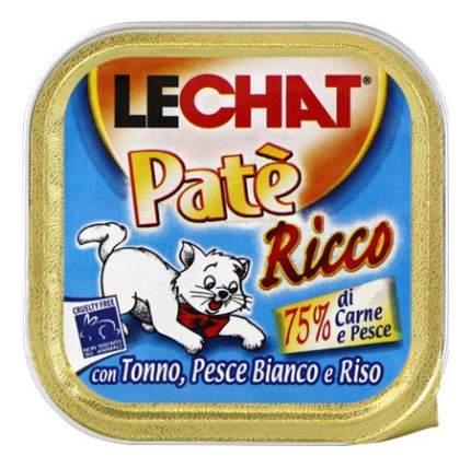 Консервы для кошек Lechat, тунец, океаническая рыба, 32шт по 100г