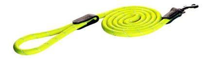 Поводок удлиненный для собак Rogz Rope L-12мм 1,8 м, Желтый HLLR12H