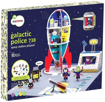 Семейная настольная игра Kroom Космическая станция