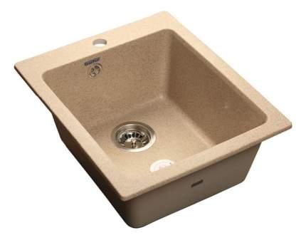 Мойка для кухни мраморная GranFest Practic GF-P505 песок