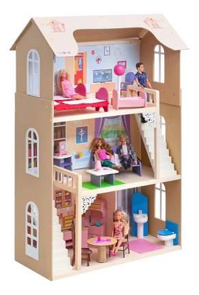 Кукольный дом Paremo Шарм бежевый
