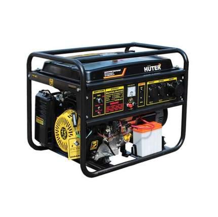 Бензиновый генератор Huter DY8000L желто-черный 64/1/33
