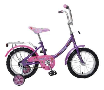 Велосипед Navigator Basic 12B 2017 onesize Basic розовый, фиолетовый ВН14060