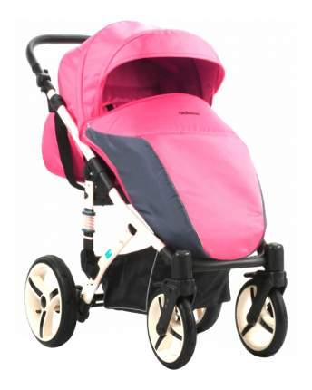 Прогулочная коляска Mr Sandman Sunny розово-серая