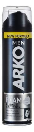 Пена для бритья ARKO Platinum Protection 200мл