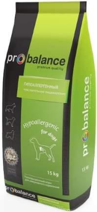 Корм для собак PROBALANCE Hypoallergenic 15 кг