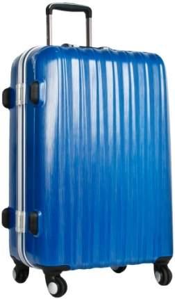 Чемодан Polar Р1155 синий S