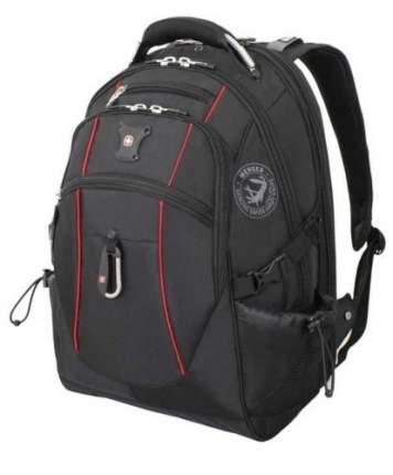 Рюкзак Wenger Scansmart III черный/красный 38 л