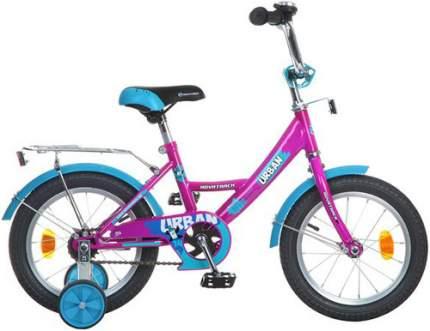 Велосипед Novatrack Urban 18 (2016), с багажником, вишневый (183URBAN.CH6)