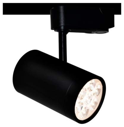 Трековый светильник Arte Lamp Track Lights A6107PL-1BK