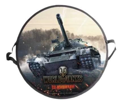Ледянка детская 1TOY World of Tanks 52 см, круглая