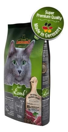 Сухой корм для кошек Leonardo Adult Lamb, ягненок и рис, 7,5кг