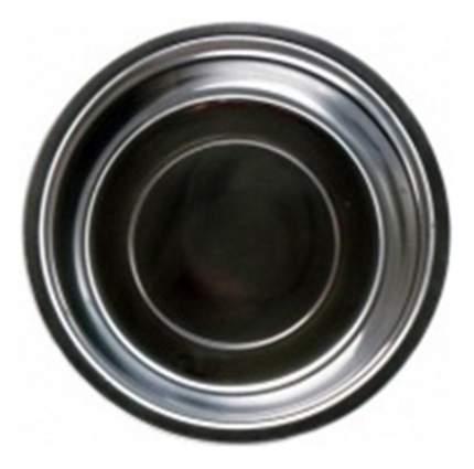 Одинарная миска для собак Papillon, металл, серебристый, 1.7 л