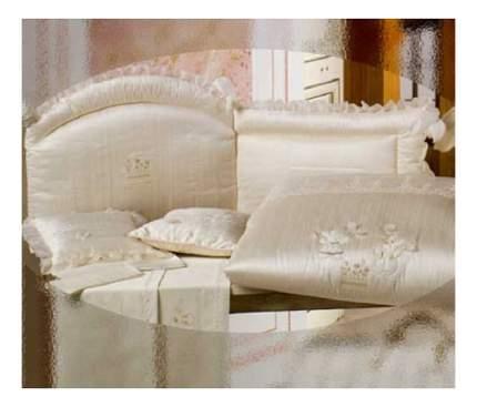 Текстильный бортик для кроватки BabyPiu Мягкий бортик BABYPIU 22L,154P_ORG Щелковые эмоции