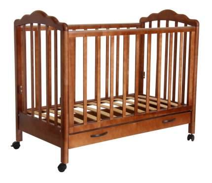 Кровать Тополь Фея 620 темный мед