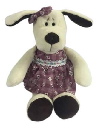 Мягкая игрушка Teddy Собака в платье, 16 см
